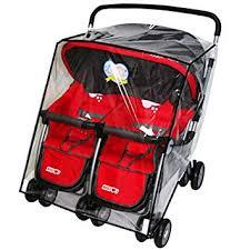 Universal Waterproof Twins Baby Stroller Rain Cover ... - Amazon.com