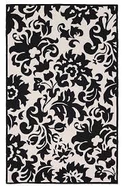 accents black white feather rug modern rugs by rugs