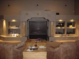 Built In Drywall Shelves Wall Niches With Lighting I Dont Like This Set Up But I Like