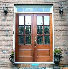 beveled glass doors front door double entry exterior with traditional design screen