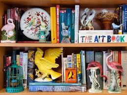 bookshelf and wall shelf decorating