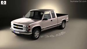 Chevrolet C1500 (K1500) Extended Cab 1988 3D model by Humster3D ...