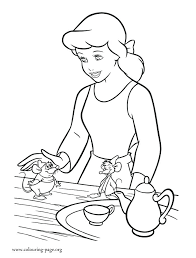 Cinderella Coloring Pages Pdf Step Mother And Sisters Friends
