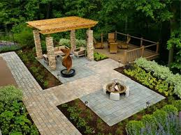 Awesome Landscape Architecture Ideas For Backyard With Pergola On Hill