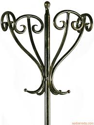 Iron Coat Rack Stand Antique Standing Coat Rack Tour Detail of the wroughtiron coat 54