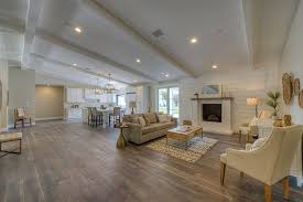 Luxury Ranches  High End Homes for Suburbanites  Not Cowboys    Originally built in   this ranch home was rebuilt in   a wide open floor plan that resembles a Soho loft more than a suburban rambler