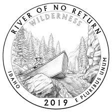 Idaho State Quarter Design Artist Celebrates Idahos Untamed Frank Church Wilderness