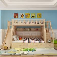 double bed up and down. Plain Double Children Beds Furniture Solid Wood Up Down Beds Double  Layers Bed With Desk Slide For Double Bed Up And Down D