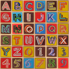 Bob and Roberta Smith Alphabet and Numbers | Pop art font, Text art,  Alphabet art