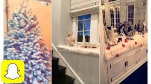 Kris Jenner Bedroom Decor Kylie Jenner Shopping Christmas Decoration On Snapchat Youtube