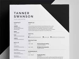 Resume Designs Simple Resume Template Designs You Can Download And Edit For Free
