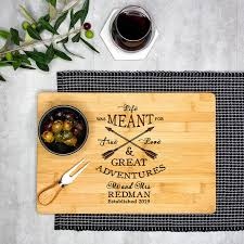 personalized cutting board great adventure
