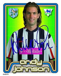 Andy Johnson Topps Football Stickers, West Bromwich Albion | Premier League