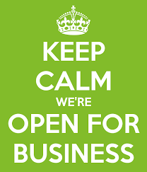 Image result for open for business