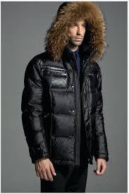 coat with fur hood mens down jackets men zip fur collar black best coat with fur hood mens