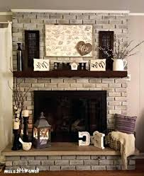 brick fireplace designs brick fireplace mantel decor contemporary photo 1 of best mantles ideas throughout red