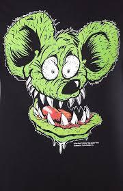 rat fink face t shirt sourpuss clothing