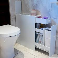 Slimline Wall Cabinet Bathroom Marko Slimline Organiser Bathroom Cupboard Cabinet White