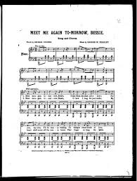 Image 3 of Meet me again to-morrow, Bessie   Library of Congress