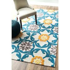 teal and yellow rug s fl area rugs bathroom
