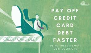Using A Credit Card To Pay Off A Credit Card How To Pay Off Credit Card Debt Fast Step By Step Guide Debt Com