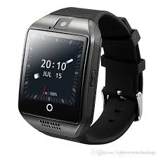 Q18 Plus Android 4.4 Smart Watch Phone 3G GPS WiFi Fashion Wristwatch Camera Video Smartwatch With 512MB/4G Memory Bluetooth Clock Watches Kids