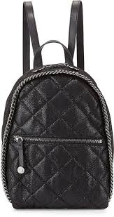 Stella McCartney Mini Falabella Quilted Backpack Black | Where to ... & ... Leather Backpacks Stella McCartney Mini Falabella Quilted Backpack  Black ... Adamdwight.com