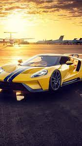 yellow Ford GT wallpaper ...