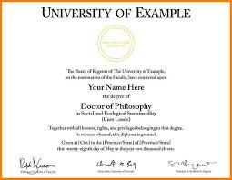 University Degree Certificate Template 6 University Graduation