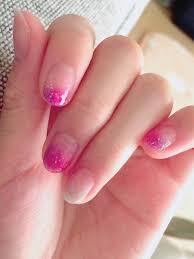 紫ピンク グラデーション スポンサー広告ハンド