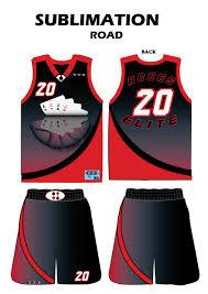 How To Make Sublimation Jersey Design Sublimated Road Uniform Basketball Uniforms Lifetime