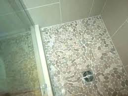 rock tile shower floor river over issues maybe community ceramic show
