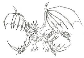 How To Train Dragon Coloring Pages With Jpg Strip All 13 And Page