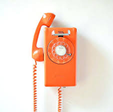 wall mounted telephones vintage rotary dial wall mount telephone orange by wall mounted telephones with caller wall mounted telephones