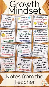 best teacher notes ideas parent teacher do you teach your students about growth mindset these notes from the teacher are the