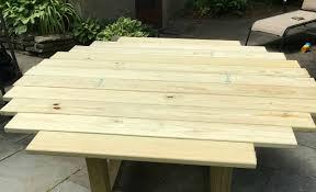 diy outdoor table. Building A Round Dining Table Diy Outdoor P
