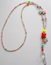 New Bead Designs Glasses Chain Cord Spec Neclace Lanyard Id Holder Beaded