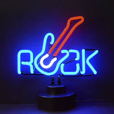 Neon Bedroom Novelty Bar Lights Wayfair Business Signs Rock Guitar Neon Sign