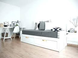 ikea brimnes bed. Ikea Brimnes Bed Full Day Beds Small Daybed Office Guestroom With Storage