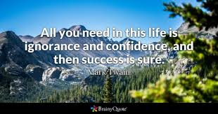 Confidence Quotes BrainyQuote Cool Confidence Quotes
