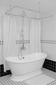 free standing tub with shower. alternative views: free standing tub with shower d