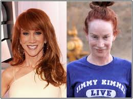 stars without makeup kathy griffin