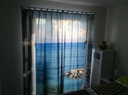 Foto Vorhang Motiv Meer Für Schlafzimmer