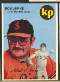 custom baseball cards former scd editor shares some memories of bob lemke a hobby