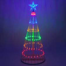 diy christmas lighting. Classy Diy Christmas Light Show Applied To Your Home Design: Multicolor Led Tree Lighting R