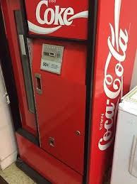 Vintage Coke Vending Machine Beauteous VINTAGE COKE VENDING Machine A Must Have For Collectors 4848