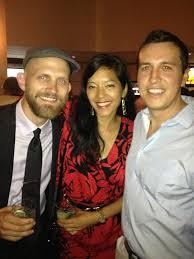 Co-producer Victor Moyers, costume designer Kim Ngo and cinematographer  Justin Thomas Ostensen. | Justin thomas, Premiere, Cinematographer