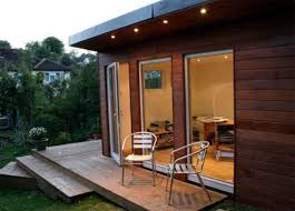 outdoor home office. there are companies that specialise in garden buildings for offices and they can advise on such matters as: planning permission, location, foundations, outdoor home office