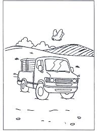 Kleine Vrachtauto Kleurplaten Autos