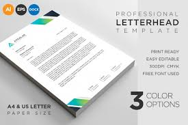 Letterhead Example Letterhead Template